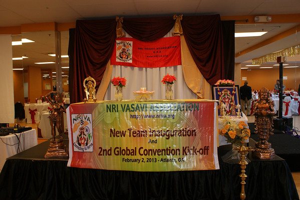 New Team Inaguration and Global Convention Kick-off